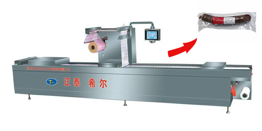 Vacuum packing machine for food