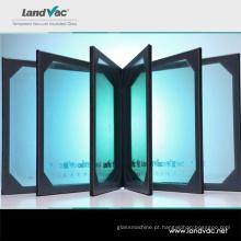 Landvac no exterior após serviço de venda isolou o vidro de vácuo composto para parede de cortina