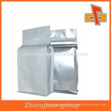 La venta caliente personalizó el bolso del ziplock de la hoja con la impresión a todo color para el embalaje
