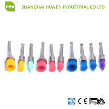 Disposable colorful latch type Dental Prophy Brush