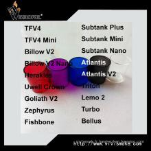 Prix d'usine Prix de gros Tube de verre de remplacement Bellus coloré