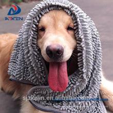 Toalla del animal doméstico de la microfibra del chenille del proveedor de China con el bolsillo Toalla del animal doméstico de la microfibra del chenille del proveedor de China con el bolsillo