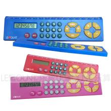 Calculadora colorida de 15 centímetros Rular (LC579A)