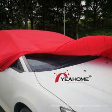 Couvre-voiture d'intérieur anti-poussière, 4 voies, grand et élastique, doux au toucher, housse automatique anti-rayures