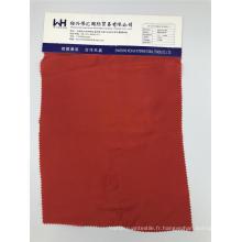 Tissu antistatique rouge uni tissé C / CU