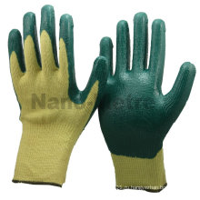 NMSAFETY отрезанные hppe устойчивые латексные с покрытием рук защитные перчатки