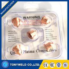120826 плазменной резки аксессуары электрод сопла