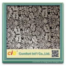 más reciente diseño china terciopelo decorativo sofá de la tela hacia atrás cubre