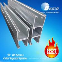 De volta ao canal de aço do suporte da parte traseira / canal de U (certificado UL)