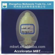 Acelerador de goma MBT para las fábricas de neumáticos de caucho