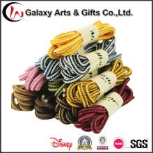 Laços Multicolour do laço da corda 140cm redondos para tênis de corrida