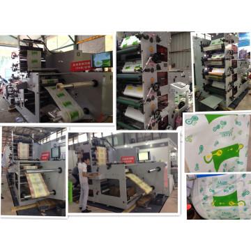 Flexodruckmaschine zum Bedrucken von Lebensmittelverpackungen