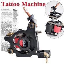 inspired design Empaistic 8 coils tattoo machine