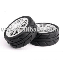 OEM rubber tires for RC/Toy scale 1/8 and 1/10 molding