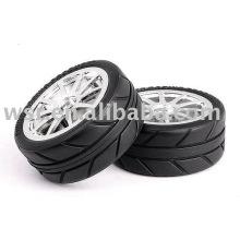OEM резиновые шины для RC/игрушка масштаба 1/8 и 1/10 формования