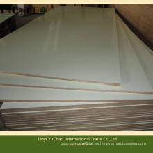 Full Hardwood Core E1 Grado Blanco Color HPL Contrachapado