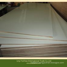 Full Hardwood Core E1 Grade White Color HPL Plywood
