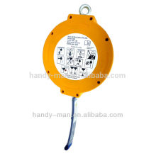 SRL-7M Sicherheits-Schutz-Industrie-zertifiziert EN360 Nylon Self Retracting Fall-Ableiter