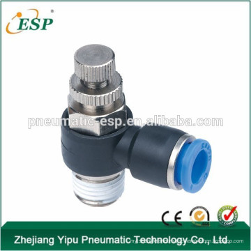 pneumatic speed controller flow control valve