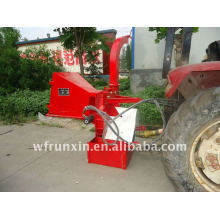 Tractor mounted 3 point hitch wood chipper with CE certificate