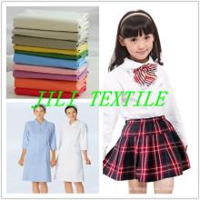 Tc 65/35 gebleicht und gefärbt Shirting Fabric / Schuluniform Stoff / Medical Uniform Fabric