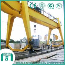 Grue à portique à double faisceau de 10 tonnes à 50 tonnes