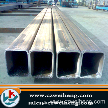 Supply for Galvanized Square Tube rectangular hollow section pipes steel square tube export to Pitcairn Exporter