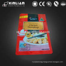 food grade laminated frozen dumplings food packaging/frozen food packaging