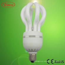 Flor de loto en forma de ahorro de energía lámpara (LWLF005)