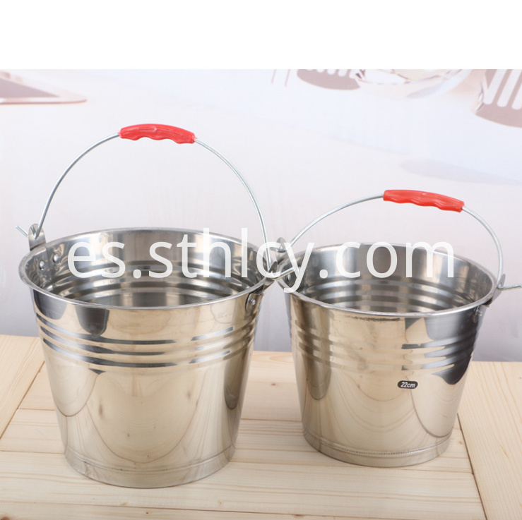 Stainless Steel Soup Bucket456lm1