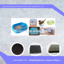 Manufacturing activated carbon Cat Litter Pan Box Replacement Zeolite Air Filter