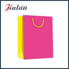 Solides Farbdruck Geschenkpapier Tasche