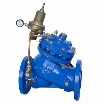 Válvula reductora de presión ajustable multifuncional