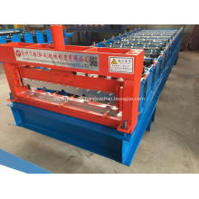 Cold rolled automatic steel roof panel forming machine