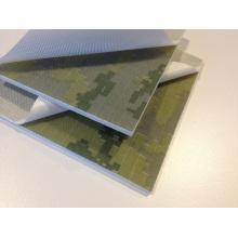 Textura Peel Ply camuflagem G10 para o punho da faca de bolso