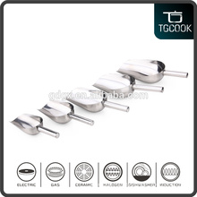 All size stainless steel ice shovel scoops, ice bucket scoops, bean scoops