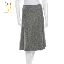 Women Cashmere Wool Pencil Skirt