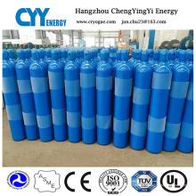 Cylindre de gaz de dioxyde de carbone à argon à oxygène oxygène à haute pression Acétylène