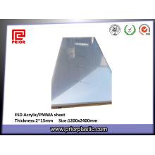 8X1220X2440mm акриловый лист для ОУР безопасной обложки