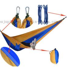 Hamac extérieur de lit de camping de parachute en nylon de vente chaude d'OEM