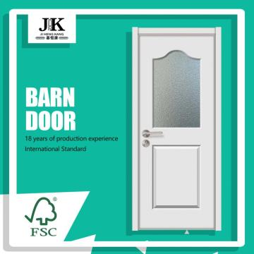 JHK-Lobby Door With Glass For Wooden Frame
