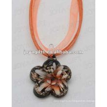 2014 новый стиль Lampwork Стекло подвеска ожерелье Lampwork стекла Ожерелье серьги падение кулон с восковым шнуром