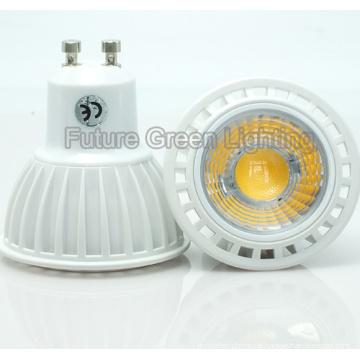 5W GU10 COB LED Lampe Plstic Shell