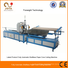 Máquina de corte de tubo de núcleo espiral de carregamento automático
