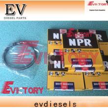 MITSUBISHI Nous pouvons fournir un ensemble de manchons de piston pour MITSUBISHI 6D16-T 6D16T UTILISÉ SUR L'EXCAVATRICE. Kit de manchon de chemise de cylindre de piston MITSU