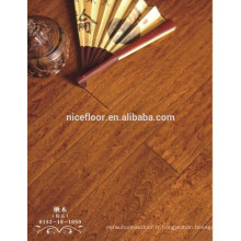 Parquet multicouches en bois multicouches Catalpa Wood