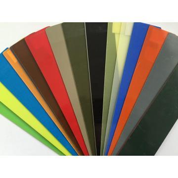 Feuille de plastique de fibre de verre