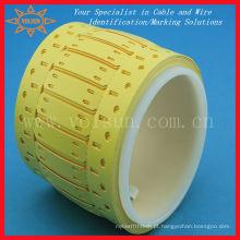 Etiquetas para marcadores de cabos para impressoras térmicas