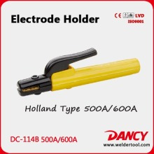 High quality 500A 600A Arc Welding Electrode Holder DC-114B