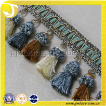 Hot Sale Tassel Fringe Usado para Suede Fringe Bags Side Hair Fringe